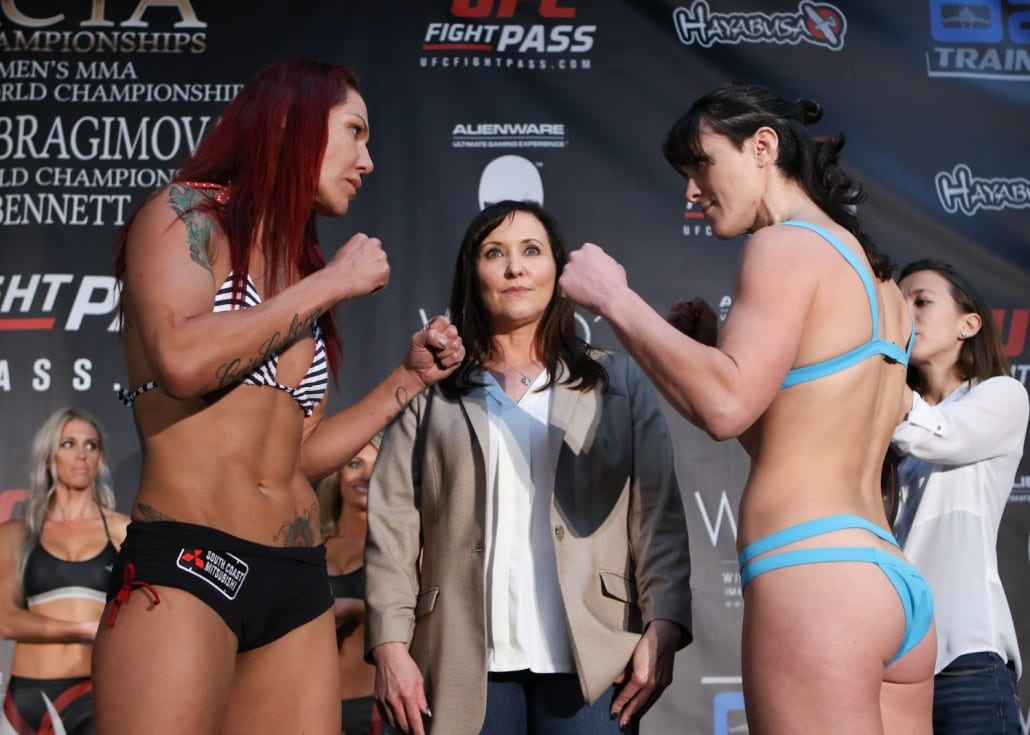Invicta FC 13 Weigh-Ins (FULL) - YouTube