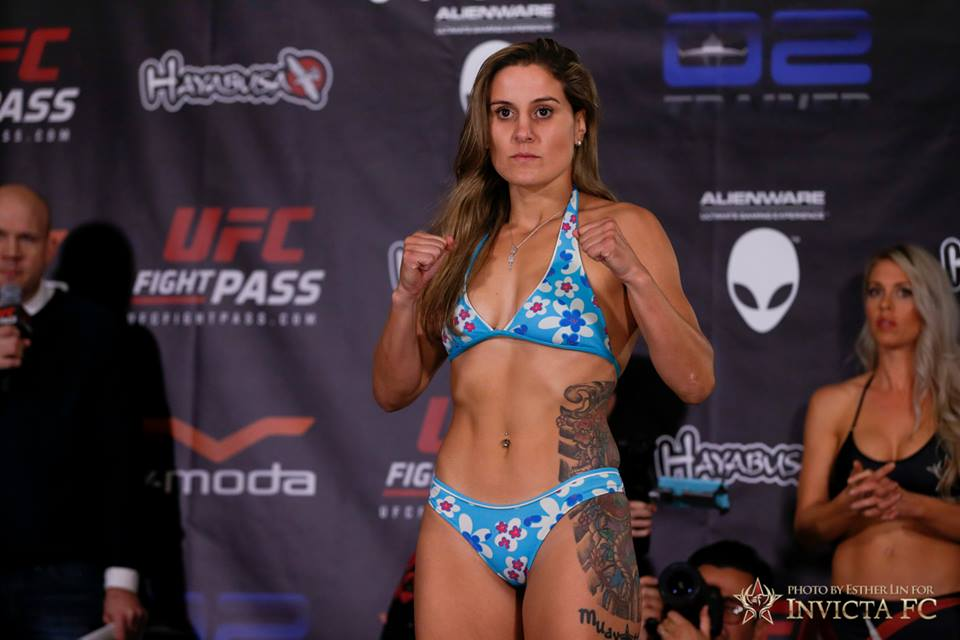 Invicta FC 3 Weigh-in Results and Photo Gallery