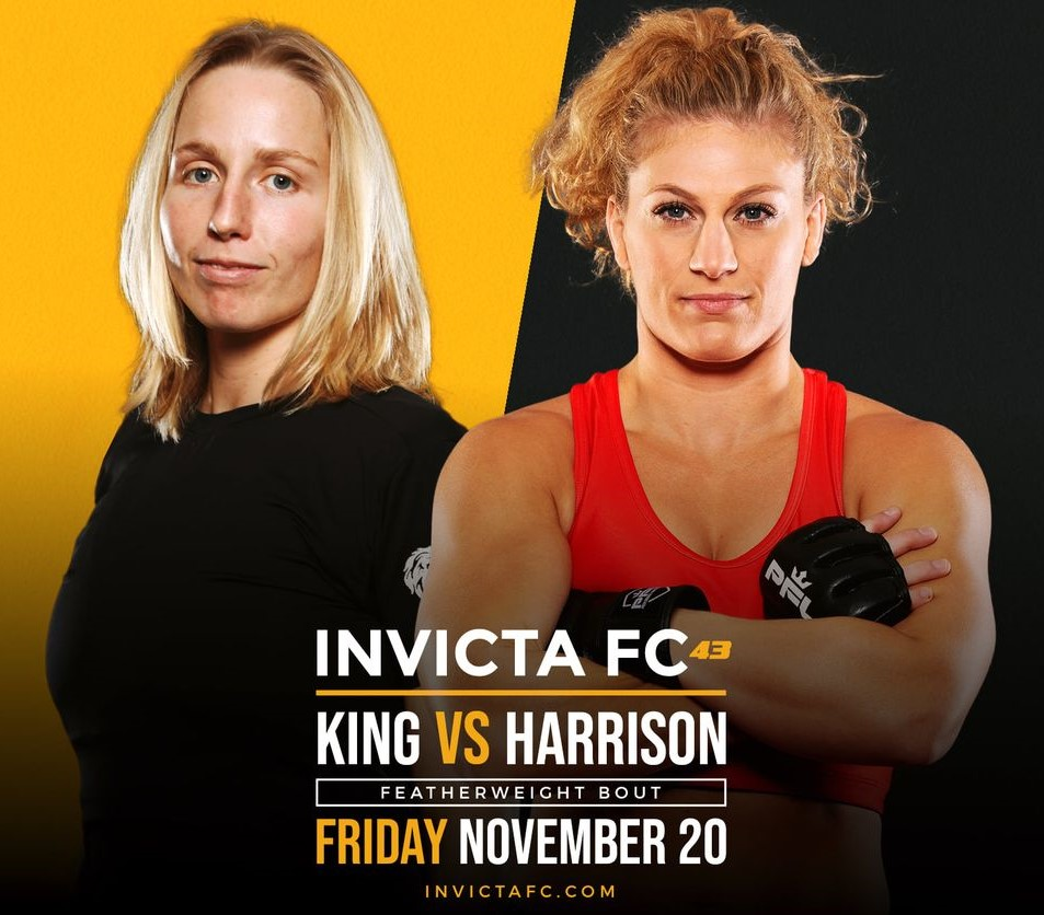 Invicta FC 43: King vs. Harrison Official Weigh-in Results | Invicta  Fighting Championships